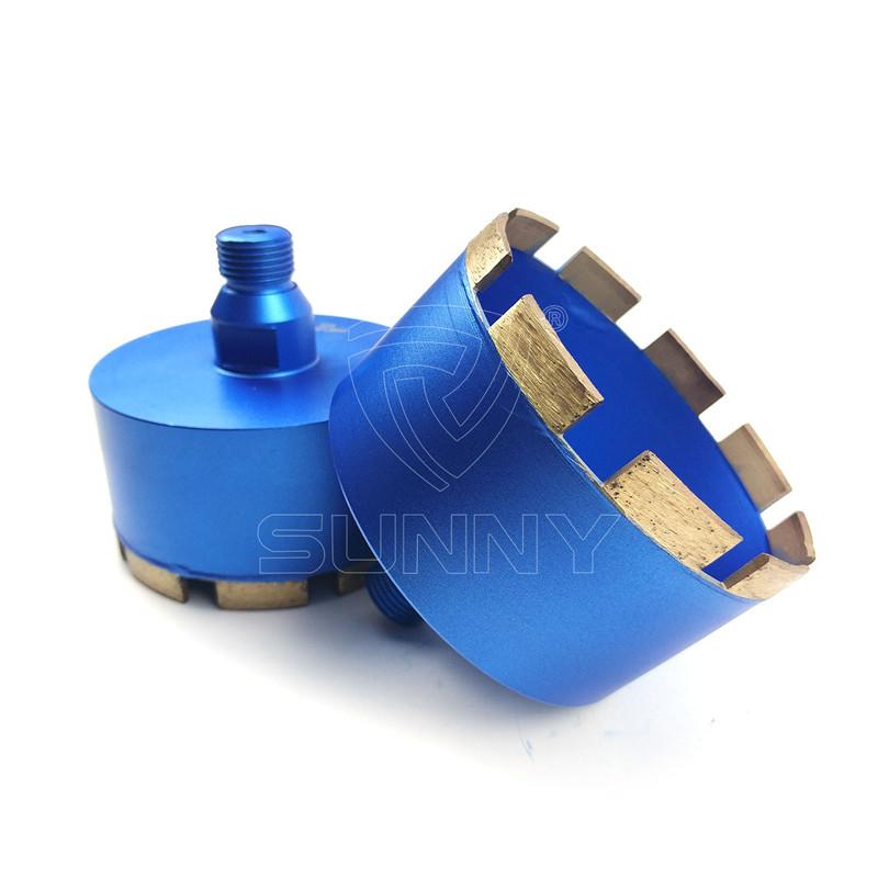 100mm G 1/2″ Thread Diamond Core Drill Bit For Stones