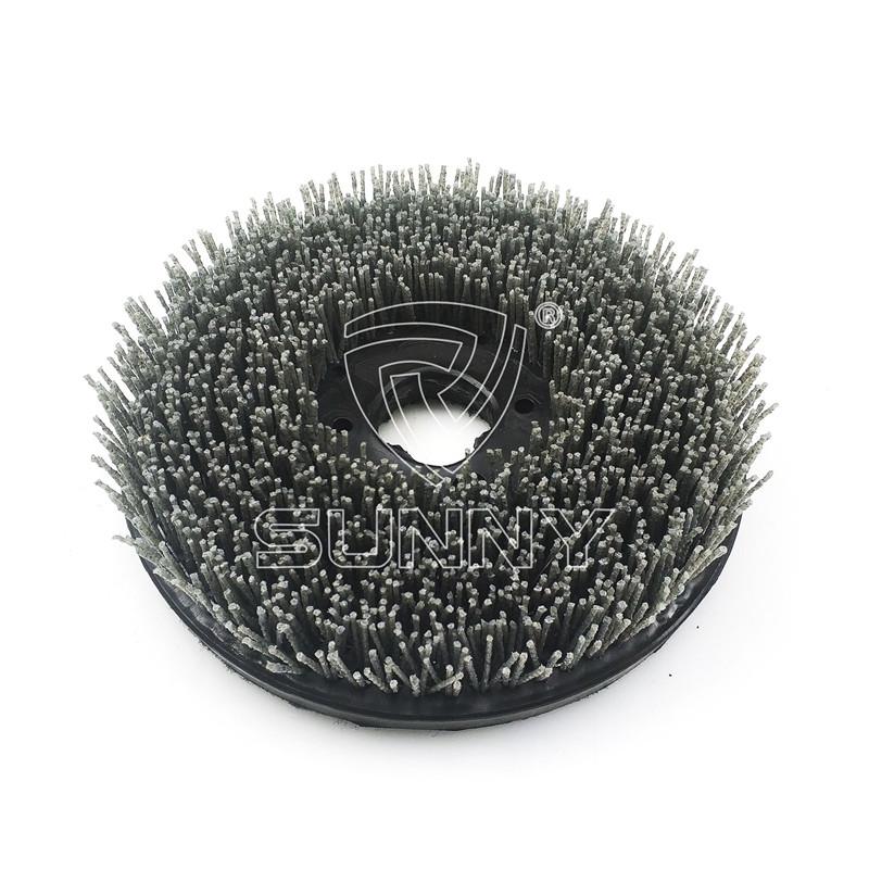 China Manufacturer for Marble Polishing Abrasive - 250mm Velcro Backed Diamond Abrasive Brush For Grinding Granite Marble Stones – Sunny Superhard Tools Featured Image