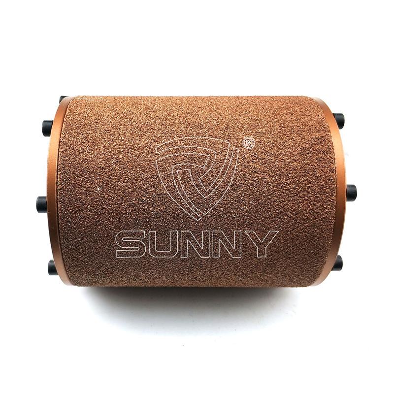 Factory Cheap Hot Bosch Bush Hammer – Vacuum Brazed Bush Hammer Scratching Roller For Angle Grinder – Sunny Superhard Tools