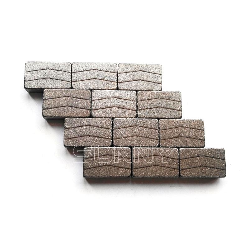 1200mm Diamond Segment For Cutting Granite Stone Blocks