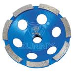 single row diamond cup wheel
