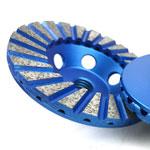 double layer turbo diamond cup wheel