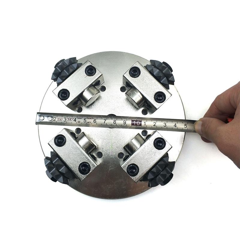 150mm 4 Heads Bush Hammer Plate For Bush Hammering Stones