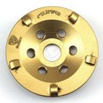 1/4 PCD diamond cup wheel
