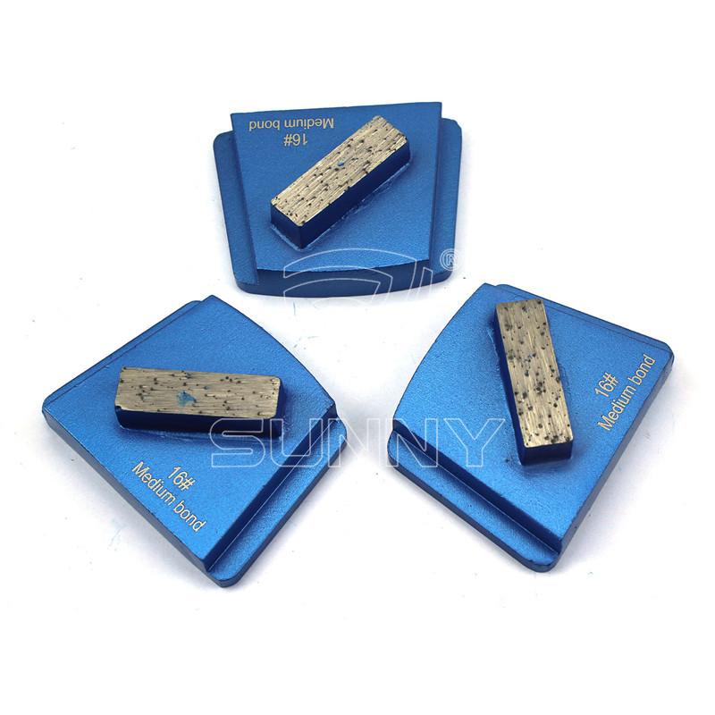 Cheap price Diamond Polishing Pads - PHX Trapezoid Concrete Grinding Disc With 1 Diamond Segment Bar – Sunny Superhard Tools