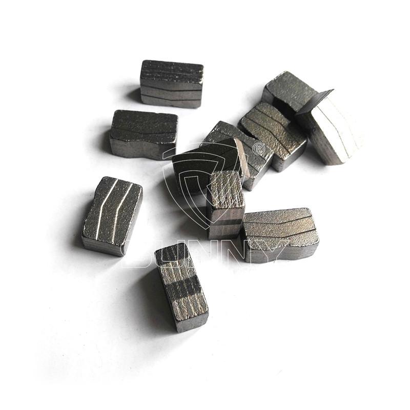 2000mm M Shape Diamond Segments For Granite Cutting