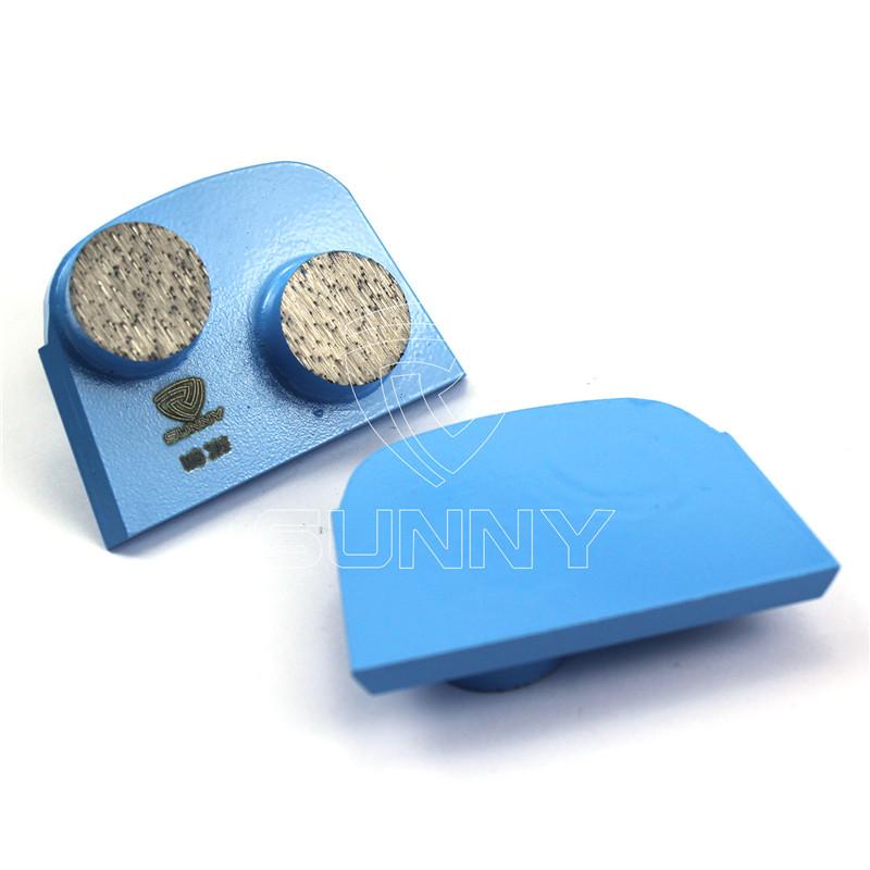 2 Round Segments Lavina Diamond Tooling For Grinding Concrete