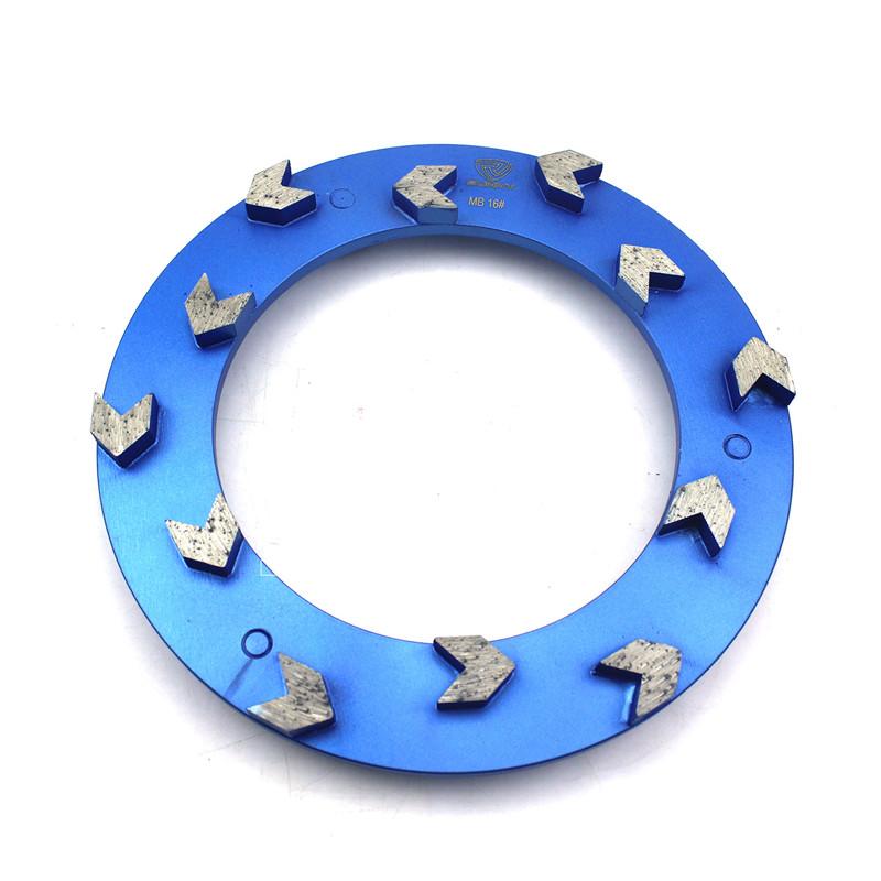 100% Original Factory 4 Dry Diamond Polishing Pads - Arrow Type 240mm Klindex Diamond Grinding Disc For Concrete Floor – Sunny Superhard Tools Featured Image