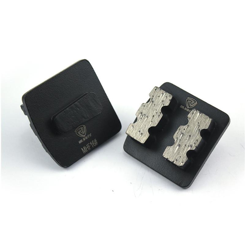 Matte Black Husqvarna Redi Lock Diamonds Grinding Disc For Concrete