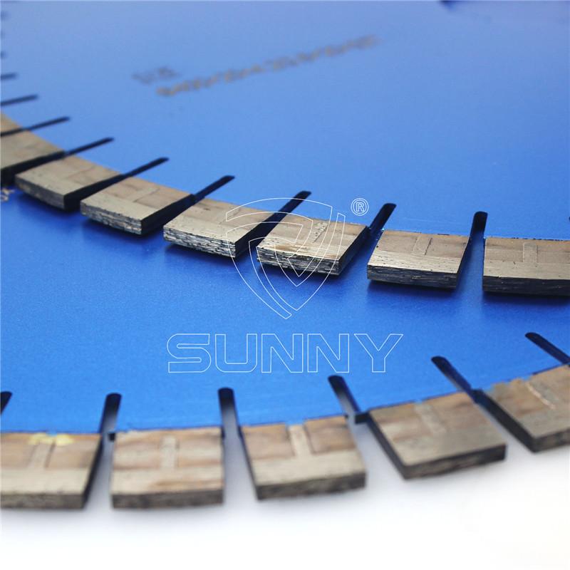 "Extra Sharp ""T"" Type 400mm Diamond Blade For Granite Cutting"