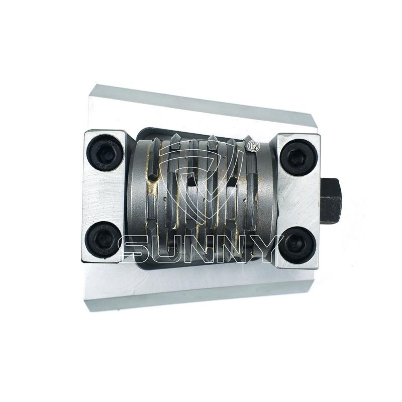 Factory Cheap Hot Bosch Bush Hammer – Frankfurt Bush Hammer Plate With Multi-Line Carbide Roller – Sunny Superhard Tools Featured Image