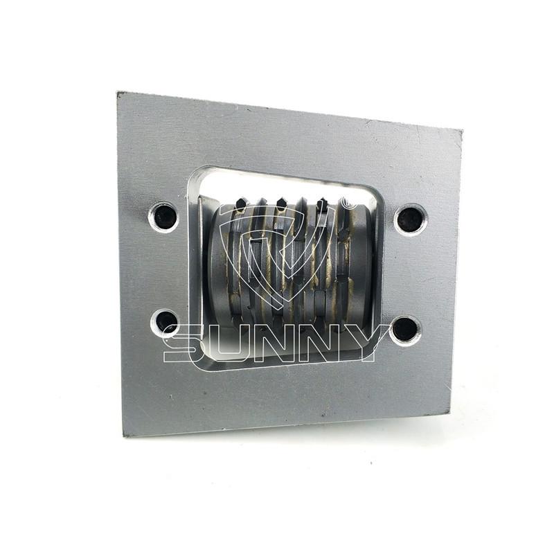 Factory Cheap Hot Bosch Bush Hammer – Frankfurt Bush Hammer Plate With Multi-Line Carbide Roller – Sunny Superhard Tools