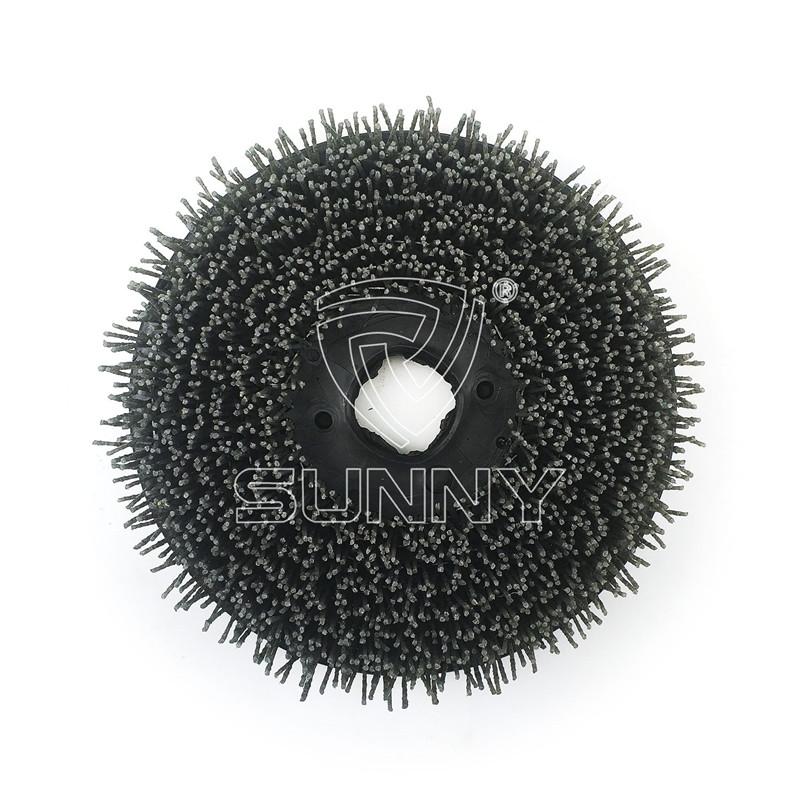 China Manufacturer for Marble Polishing Abrasive - 250mm Velcro Backed Diamond Abrasive Brush For Grinding Granite Marble Stones – Sunny Superhard Tools