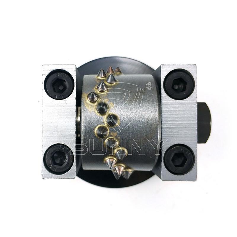 Chinese Professional Stone Bush Hammer - Redi Lock Husqvarna Bush Hammer Head With 4.7mm Carbides – Sunny Superhard Tools
