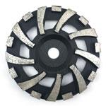 F type diamond cup wheel
