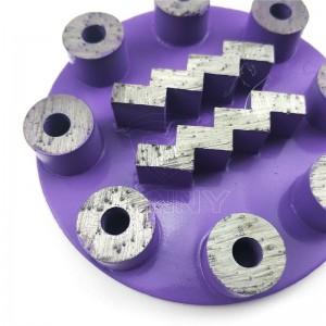 Unique Redi-Lock Husqvarna Diamond Grinding Puck For epoxy removal