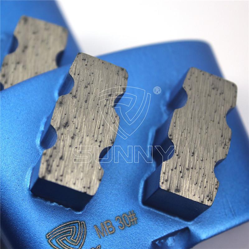 China Abrasive HTC Diamond Grinding Disc For Concrete Terrazzo Floors