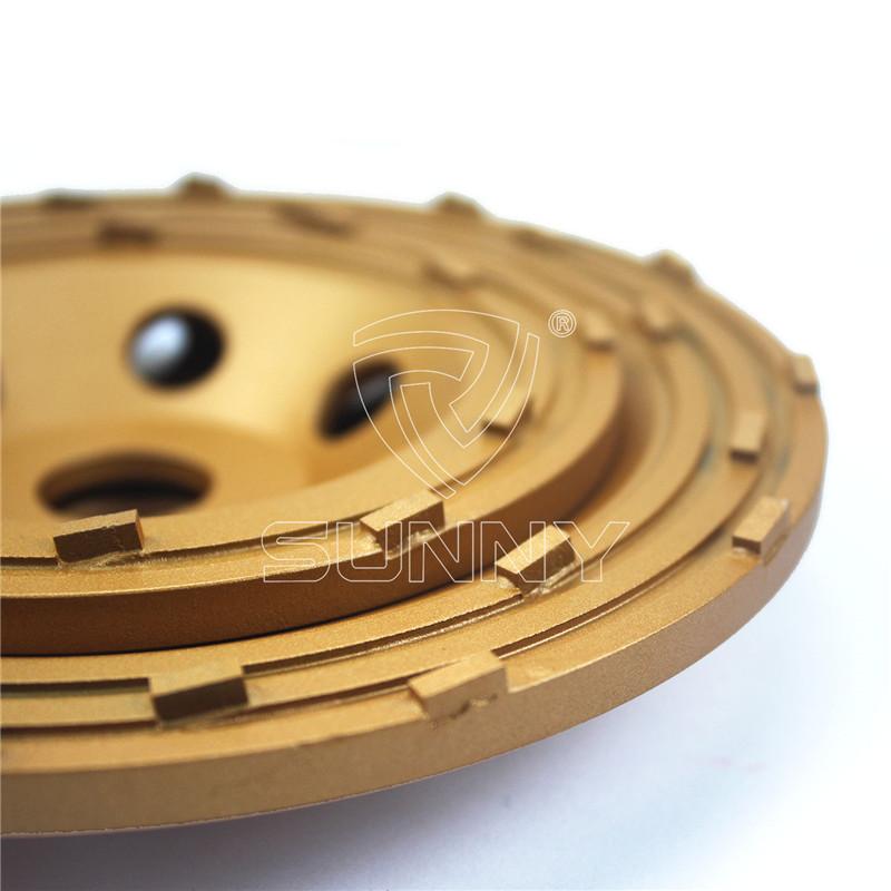 PCD floor coating removal diamond cup wheels