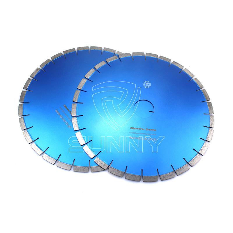 Reasonable price for 4 Diamond Cutting Wheel - 400mm Silent Type Diamond Saw Blade For Granite Cutting – Sunny Superhard Tools
