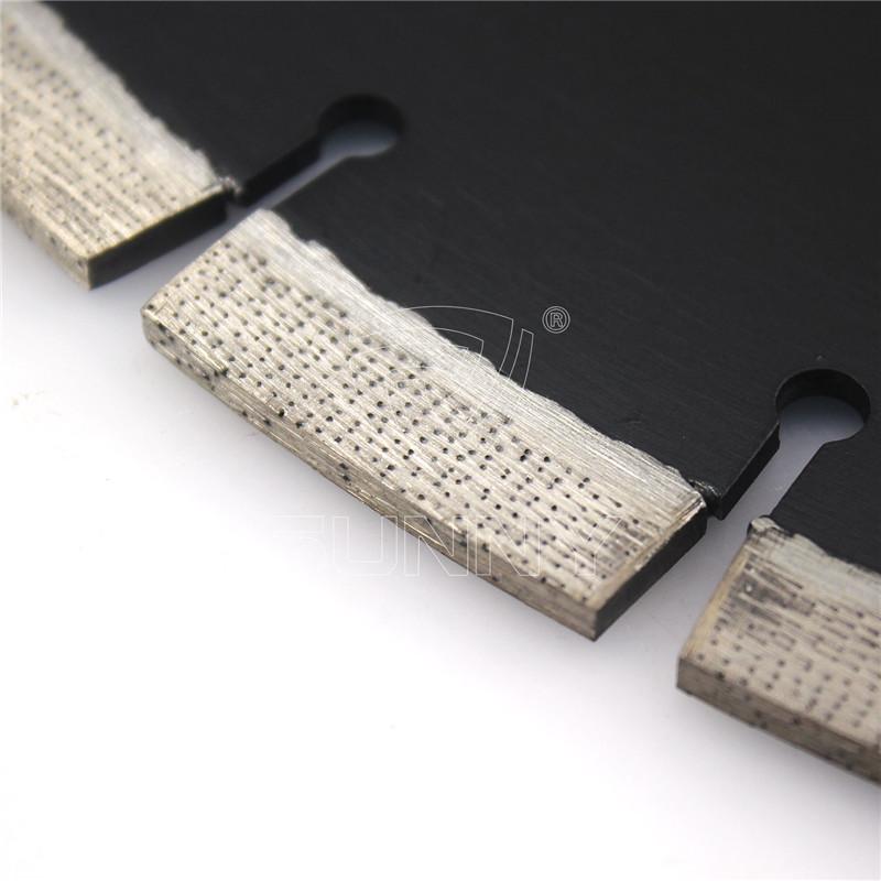 16 Inch Laser Concrete Saw Blade With Arix Diamond Segments