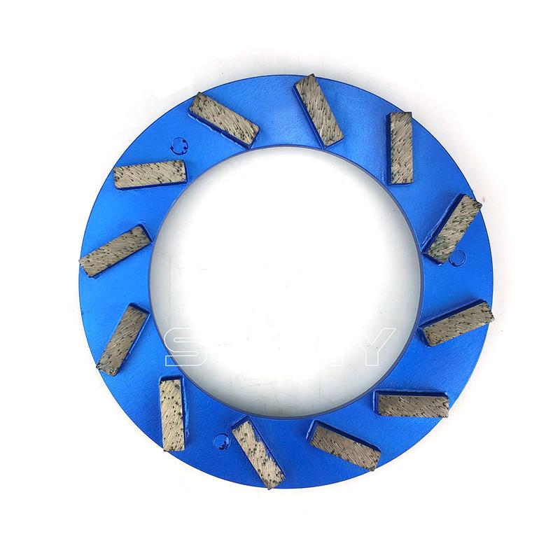 Turbo Type 240mm Klindex Concrete Grinding Disc With 12 Diamond Segments Featured Image