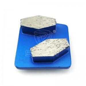 Slip Redi-Lock Husqvarna Diamond malsegmenten till salu