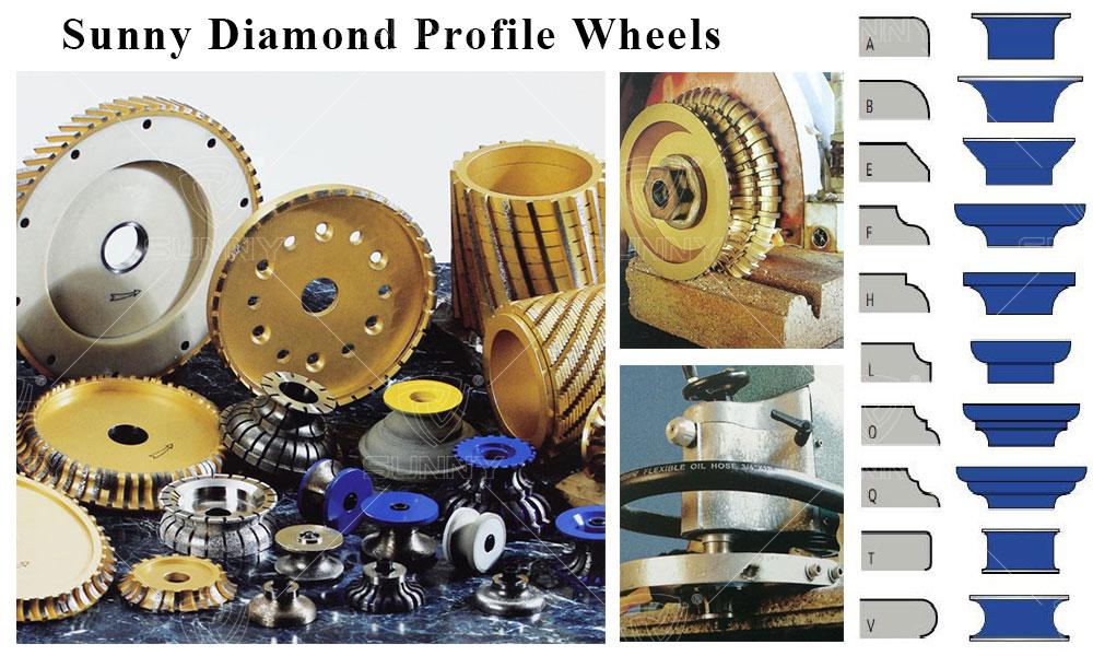 diamond profile wheel