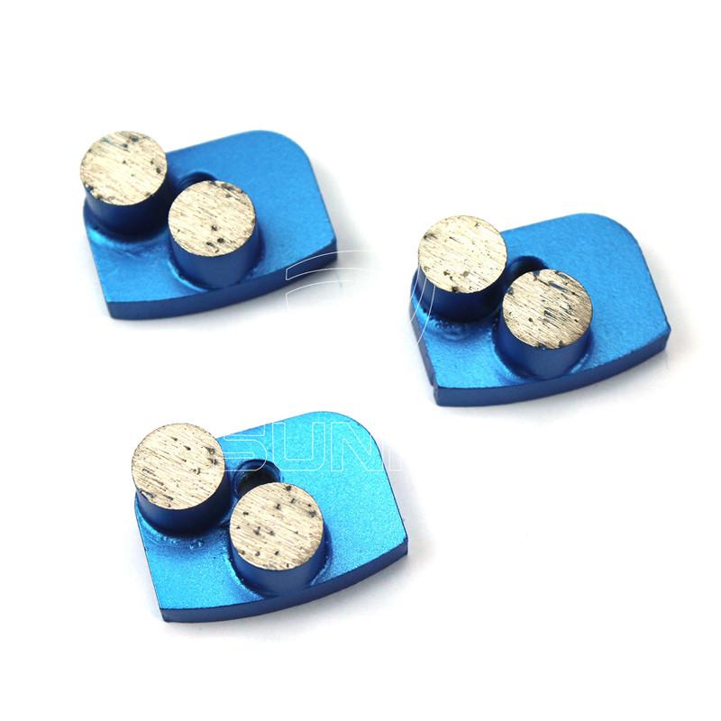 2 Button Segments Diamond Grinding Tools For Newgrind Grinder